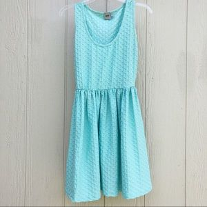 ASOS blue skater dress